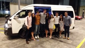 Party Van Singapore, Party Bus Booking,
