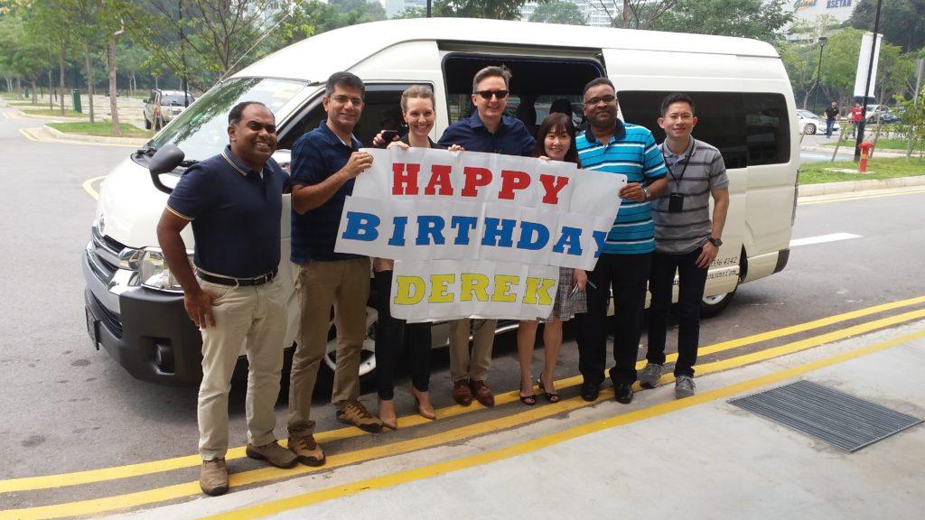 Birthday Party Bus Singapore
